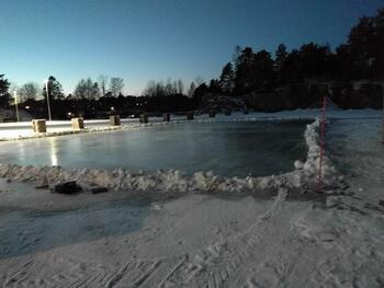 Skøyteis Vesterøya Idrettspark 2021
